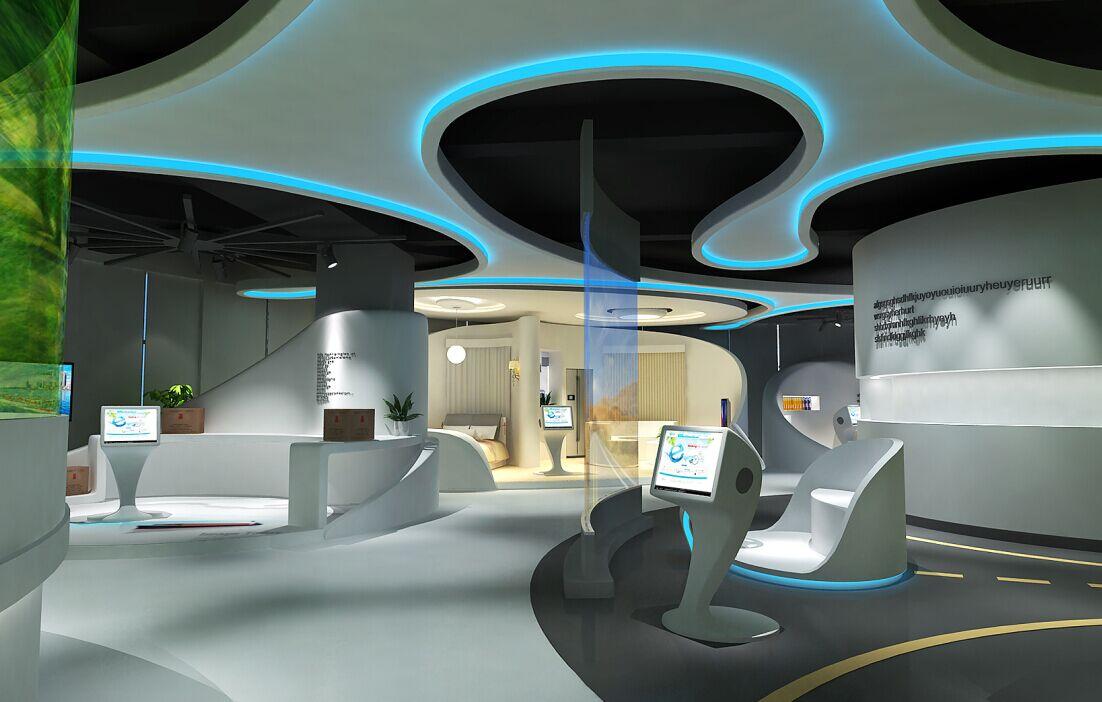 福田多媒体展厅设计-深圳市概念展示策划有限公司图片