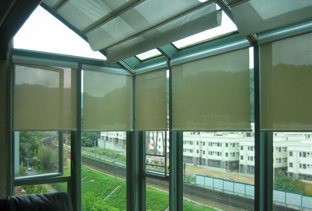 供应无锡窗帘——阳光房遮阳窗帘