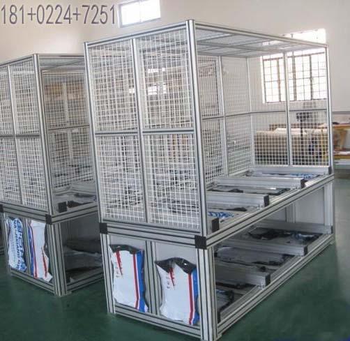 181+0224+7251 靖倪机电的工业铝(合金)型材的使用范围极广泛,通用性极强,它以环保、组装拆卸方便、节省时间和金钱的特点而闻名。本公司开发了全系列工业铝型材产品和配件,以及自动化配套的相关产品。本公司工业铝型材具有品种多、规格全,适合各种类型机械装置使用;无须焊接、调整尺寸方便、更改结构容易;尺寸公差要求严、表面光洁度要求高;组装工作方便快捷,生产率高等特点。表面经阳极氧化和磨砂电泳处理,防腐蚀、免喷涂、美观大方,可提高产品附加价值,为您带来机械结构的新概念,为您提供设备框架简而易行的新方案,为