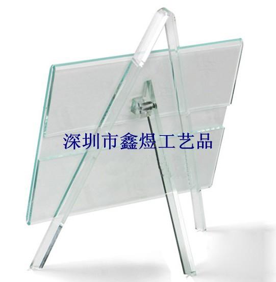 有机玻璃支架相框, 相架, 亚克力相框,透明相框/相架