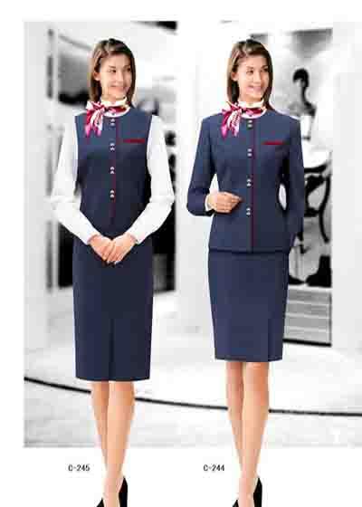 设计各种工作场合服装,职业装,工作服,制服,促销服,保安服,技师服