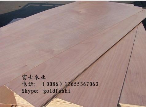 家具级贴面胶合板plywood 杨木整芯板