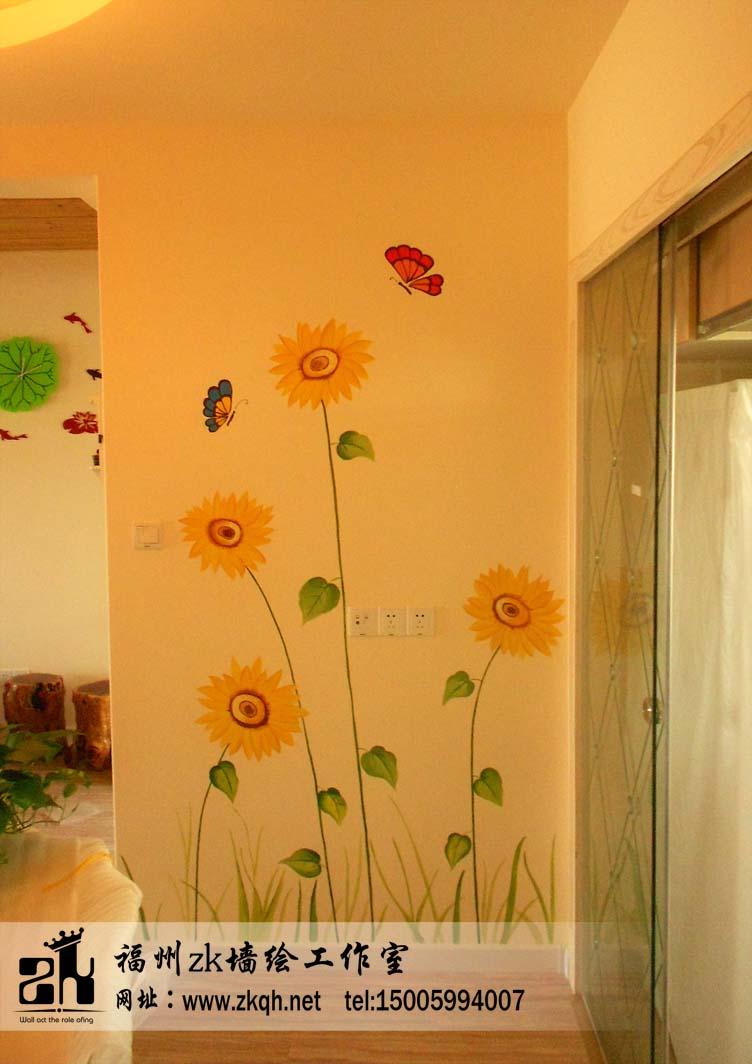 福州壁画,手绘墙,墙绘工作室