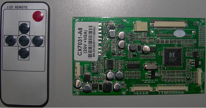 7寸8寸数字屏液晶显示驱动电路板