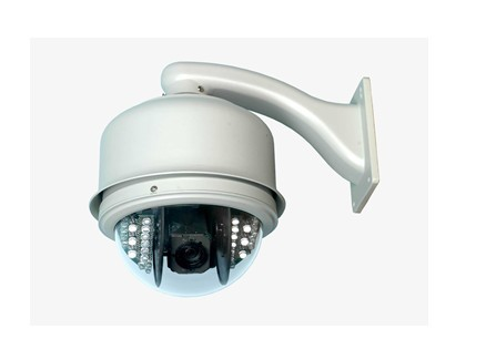 上海南征监控摄像头,旋转防水监控球机