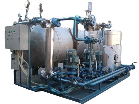 供应蒸汽冷凝器,蒸汽式给水预热器,汽水换热器