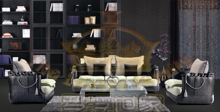 创意无限 令人心跳加速的罗浮世家新款沙发/经典黑白图片