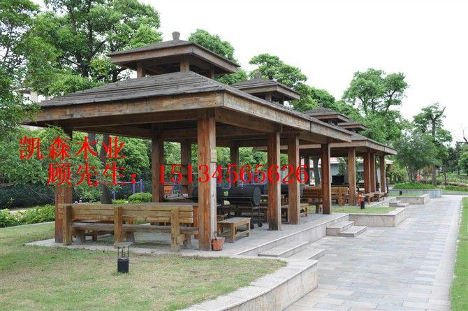 景观木结构