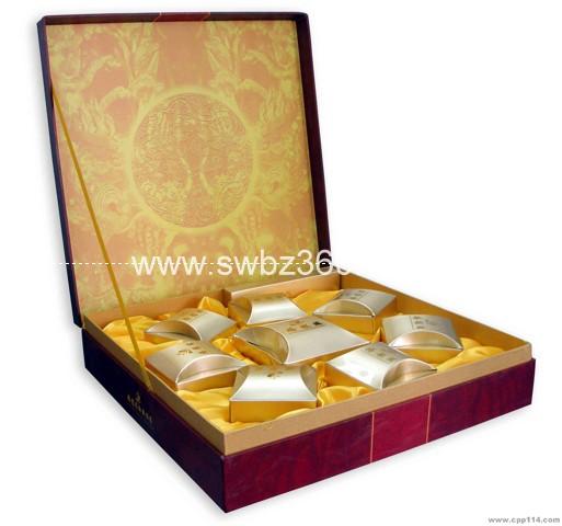 好利来月饼盒包装 广州酒家月饼盒礼盒 滕王阁月饼包装设计