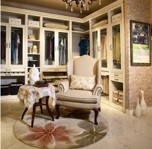 供应鑫雅欧式古典风格的衣柜,在庄严气派中撞球奢华优雅!