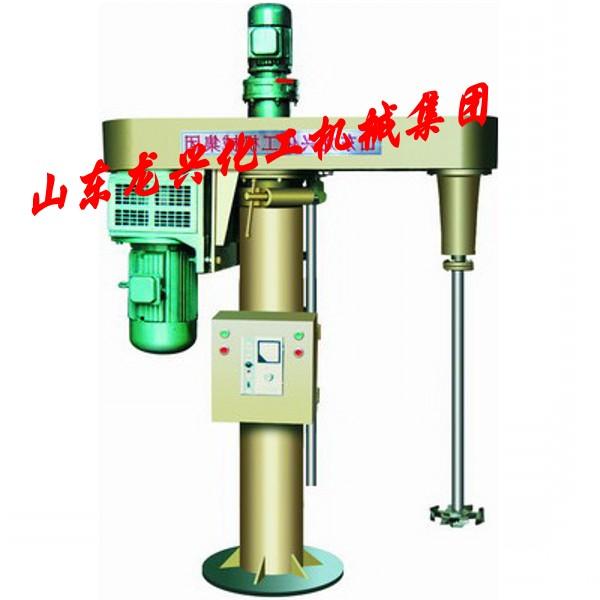 **机械升降高速分散机的结构特点:   •使浆液呈滚动