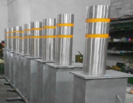 电动/遥控/刷卡式控制液压升降柱图片