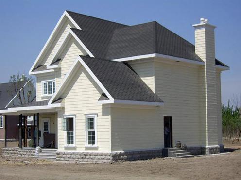 设计图纸 四面坡钢结构别墅设计图纸 刚结构 直接承包 本