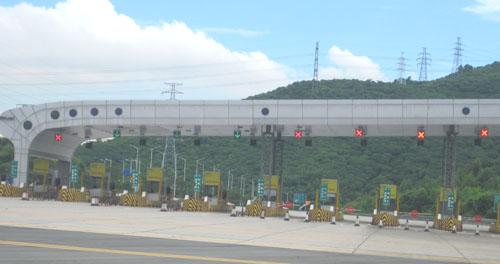 高速公路收费站通行信号灯