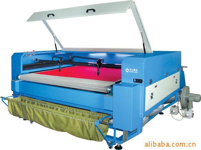 厂家供应皮革布料激光裁剪机 自动送料激光机 激光雕刻机