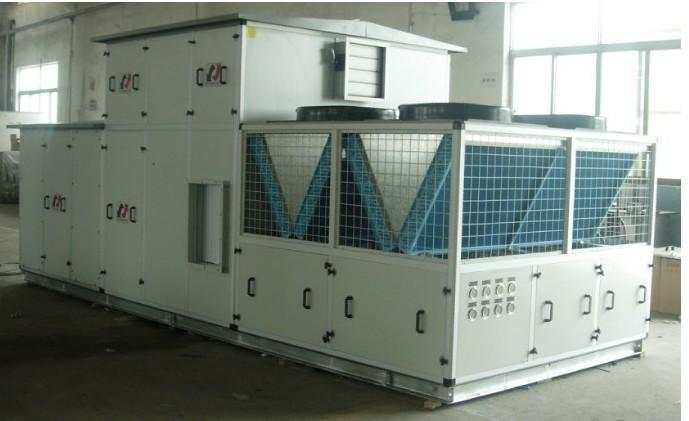 供应组合屋顶水冷恒温恒温净化空调机组 应用于gmp药厂洁净车间