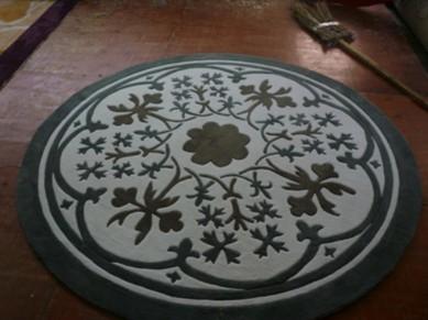 圆形地毯-广州市卓敏装饰材料有限公司