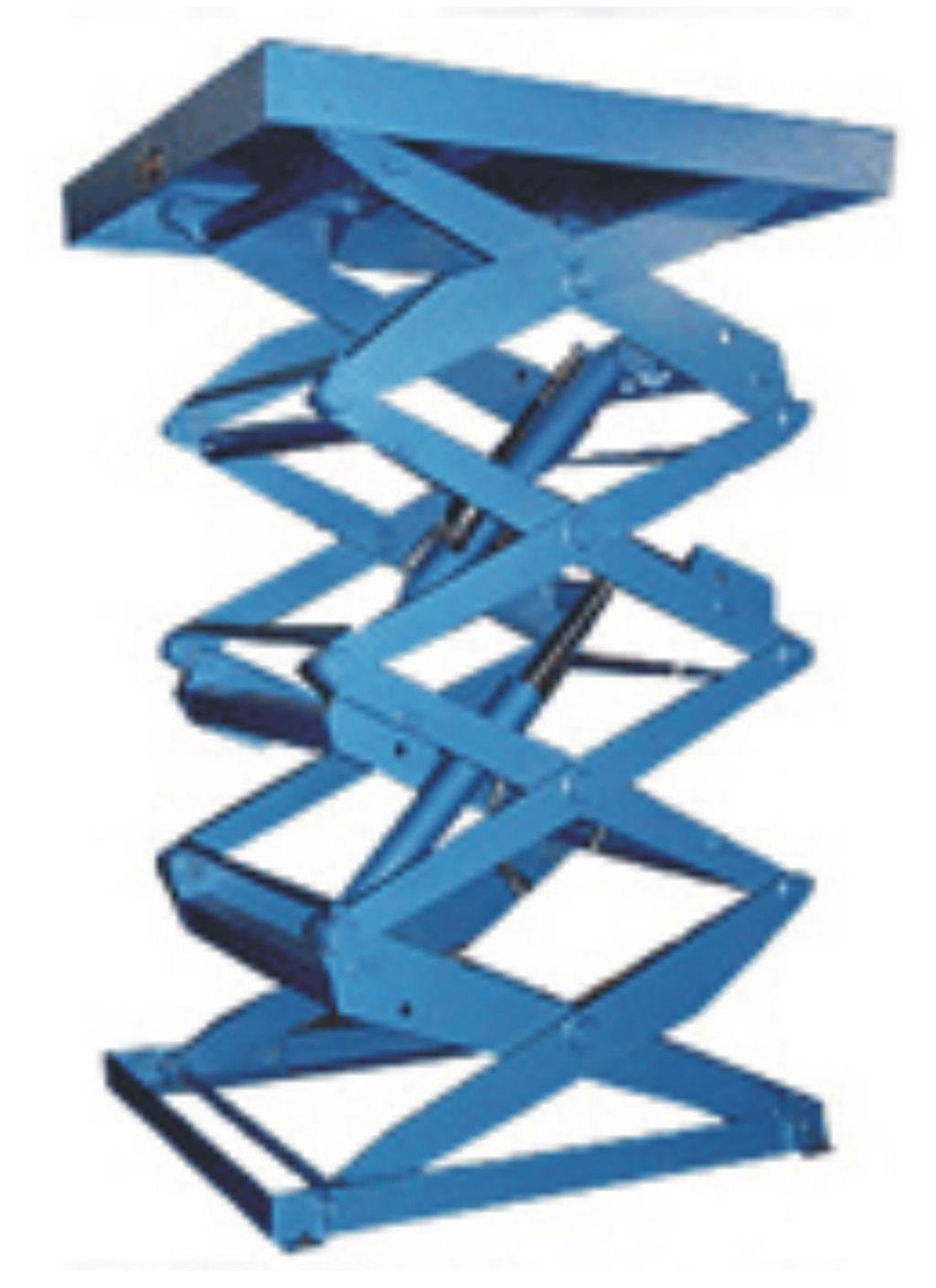 液压升降台产品主要用各种工作层间货物上下运送;立体车库和地下车库图片