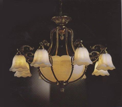 供应别墅专用灯全铜灯云石灯欧式灯高档吊灯