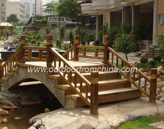 供应公园小桥流水,景观小桥,花园楼梯,公园桥梁