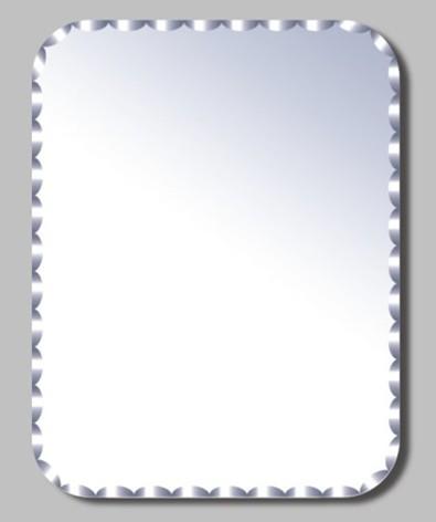 边框样式多种可选,镜子表面清晰,无划伤,无变形,无杂物,透视度好.
