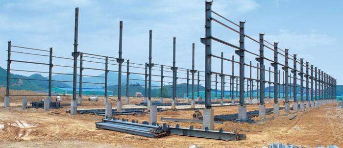 江西钢结构厂房安装公司,江西钢结构工程公司钢结构安装生产流程