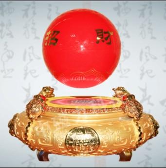 供应磁悬浮工艺品-聚宝盆磁悬浮风水球aca皮划艇级别4图片