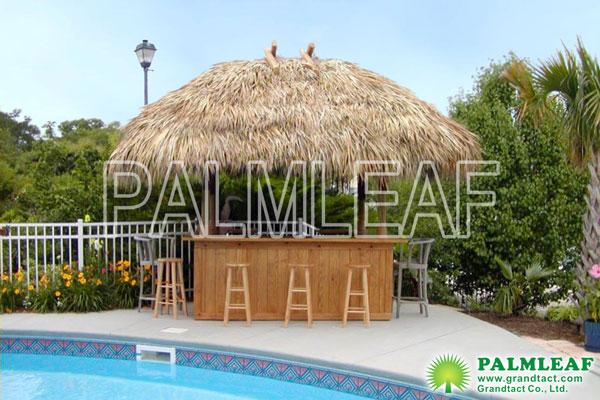 欧式庭院游泳池凉亭