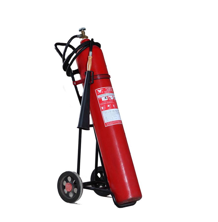 推车式二氧化碳灭火器 咸阳灭火器充装更换地点