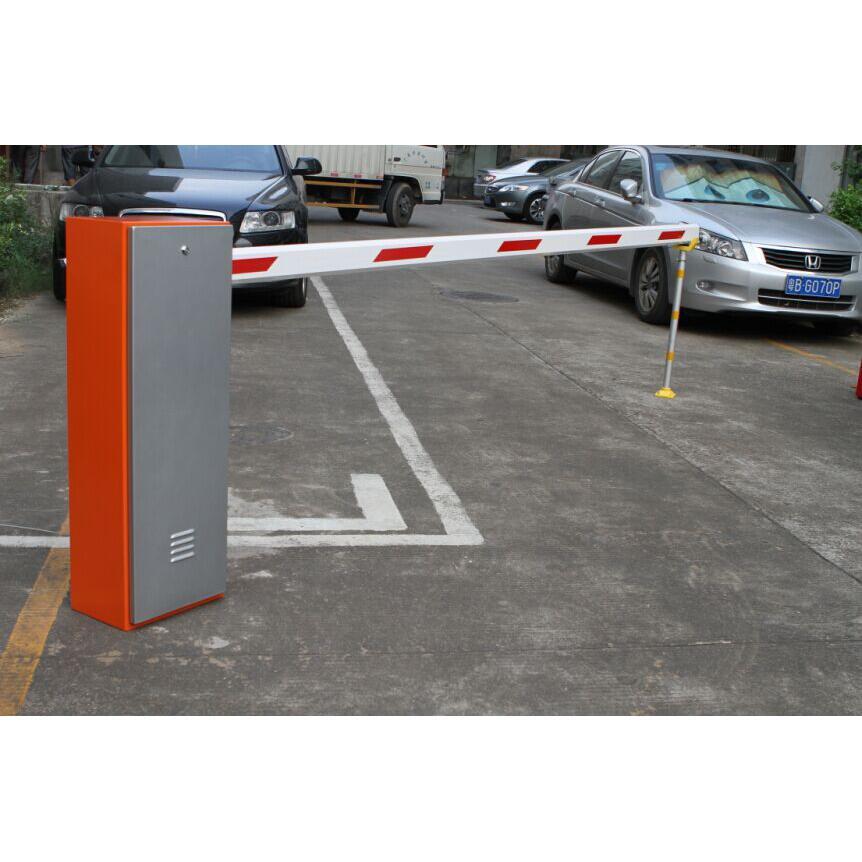 我们单位的停车场道闸机,有车辆经过地感线圈就会抬杆